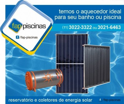 Aquecedor de Piscina Solar Vila Leopoldina - Aquecedor de Piscina Solar