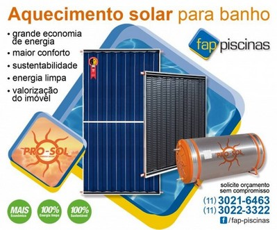 Aquecedores de Piscina Solar Cachoeirinha - Aquecedor de Piscina Externo