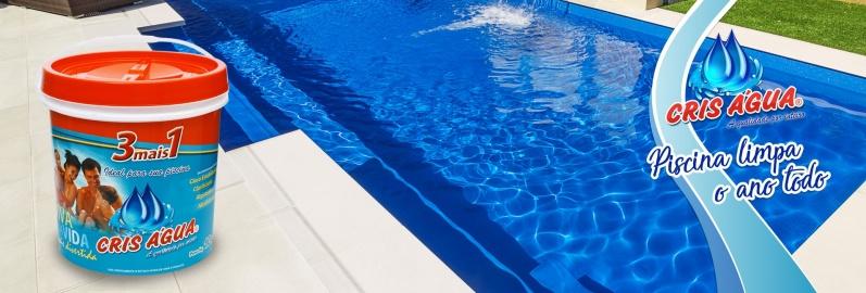 Empresa de Limpeza Piscina Cris Agua Pompéia - Limpeza de Piscina água Esverdeada