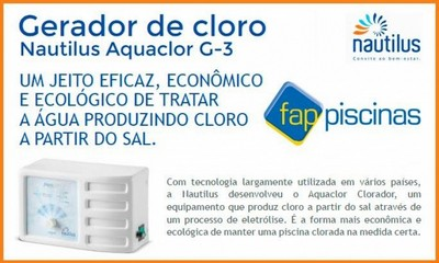 Empresa de Tratamento por Gerador de Cloro Ipiranga - Tratamento de água de Piscina Gerador de Cloro