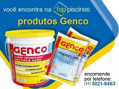 Produto para Piscina Genco Cachoeirinha - Produto para Limpeza de Piscina