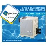 aquecedor de piscina a gás preço São Domingos