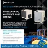 aquecedor de piscina de academia Ibirapuera