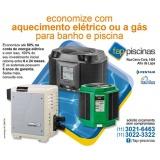 aquecedor de piscina residencial preço Jardim São Luiz