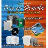 aquecedor de piscina solar preço Capão Redondo