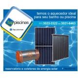 aquecedor de piscina solar Vila Leopoldina