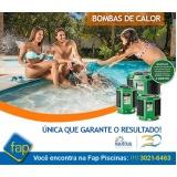 aquecedor para piscina grande Pompéia