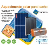 aquecedores de piscina solar Brooklin
