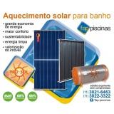 aquecedores de piscina solar Jaraguá