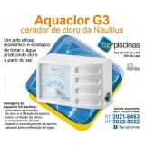 tratamento de água de piscina com gerador de cloro