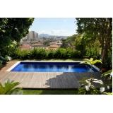 construção de piscina acima do solo Perus