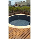 construção de piscina de vinil preço Cidade Dutra