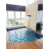 construção de piscinas de vinil Ibirapuera