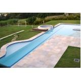 construção de piscinas em alvenaria Pedreira