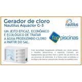 empresa de tratamento por gerador de cloro São Domingos