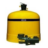 motor e filtro de piscina