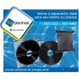 instalação de aquecedor de piscina solar Interlagos