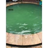 limpeza de piscina água verde preço Aeroporto