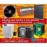 manutenção de piscina aquecida preço Vila Andrade