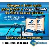 manutenção de piscina residencial preço Brasilândia