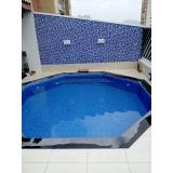 manutenção de piscina de vinil