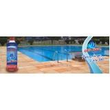 produto para tratar água de piscina