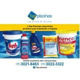 produtos para tratar água de piscina Parelheiros