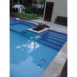 quanto custa construção de piscina de bloco Água Funda