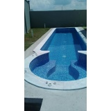 quanto custa construção de piscina de vinil Água Branca