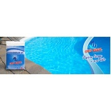 quanto custa produto para tratar água de piscina Rio Pequeno