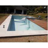 quanto custa reforma de piscinas de concreto Sacomã