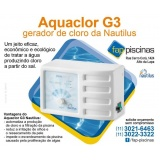 quanto custa tratamento de água de piscina gerador de cloro Pirituba