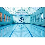 reforma de piscina olímpica Aeroporto