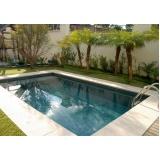 reforma de piscina pequena preço Sacomã