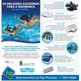 serviço de manutenção de piscina de fibra Jabaquara