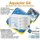 tratamentos de água de piscina com gerador de cloro Ibirapuera