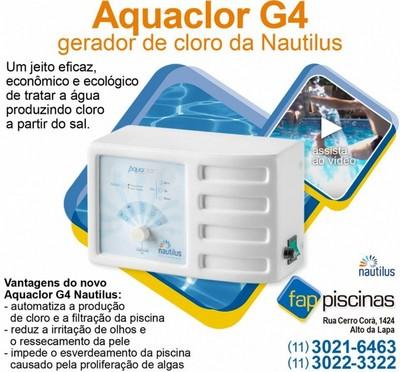Tratamentos de água de Piscina Automatizado Butantã - Tratamento de água de Piscina com Gerador de Cloro
